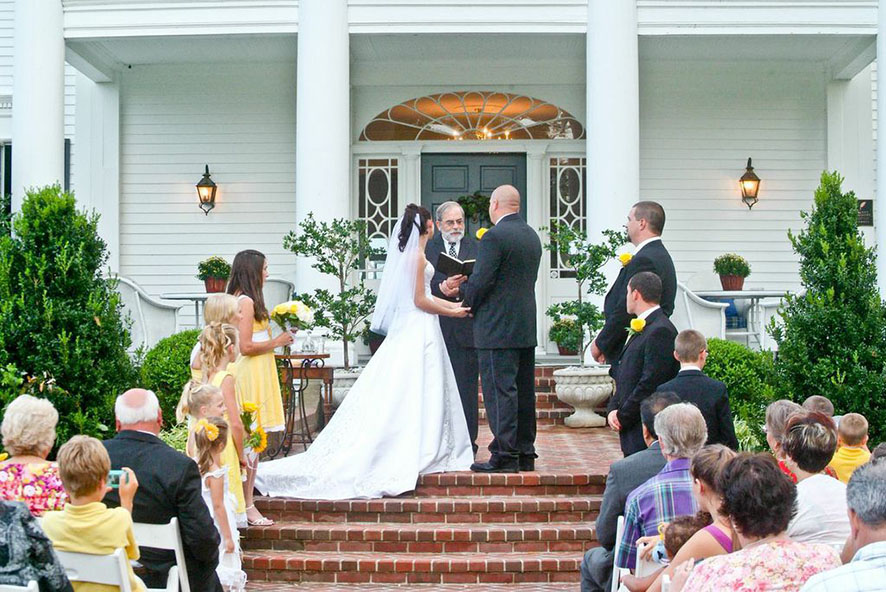 Warner hall wedding