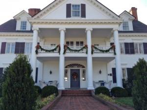 Warner Hall at Christmas