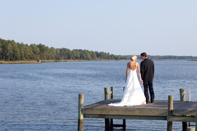 Warner Hall Waterfront Wedding
