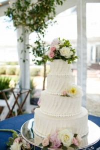 Warner Hall Wedding Cake