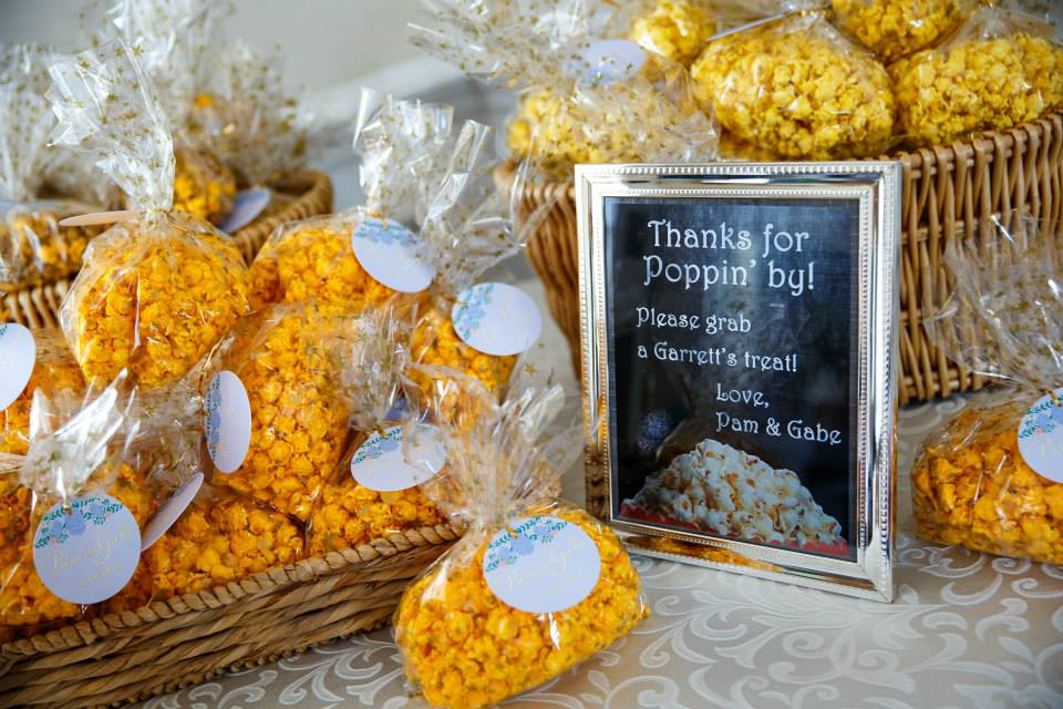 Warner Hall Wedding Favors