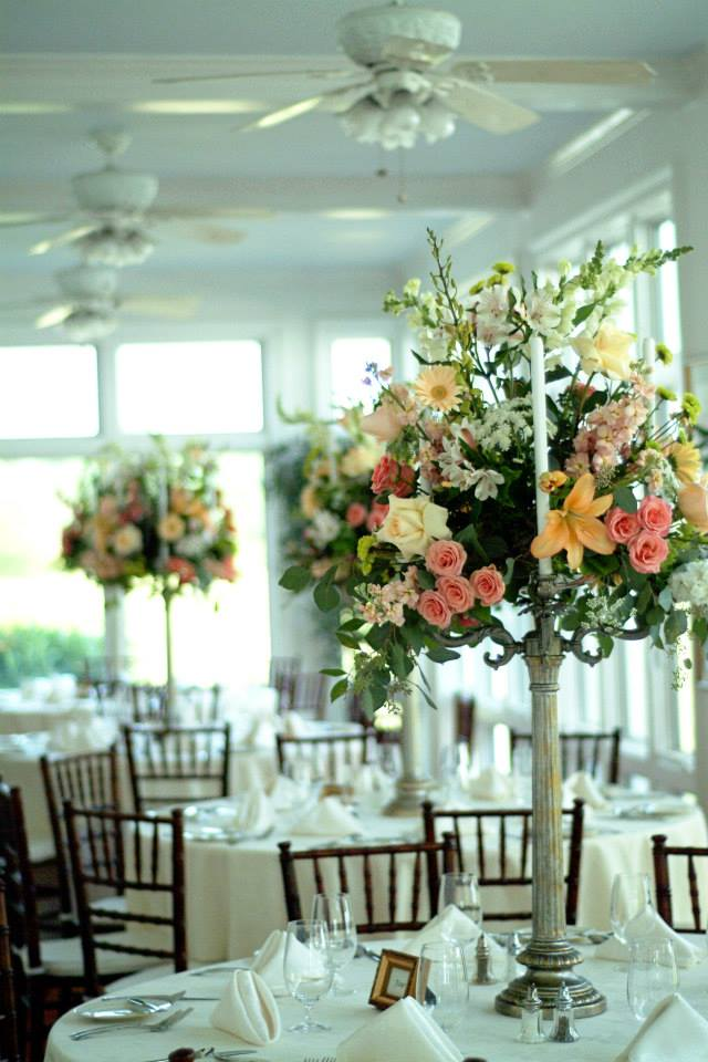 Warner Hall Wedding Flowers
