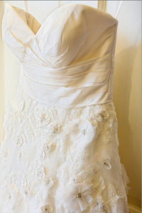 southern plantation wedding gown